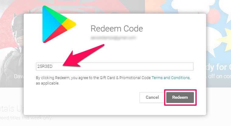 Google Play Codes 2018 Get Credit Today