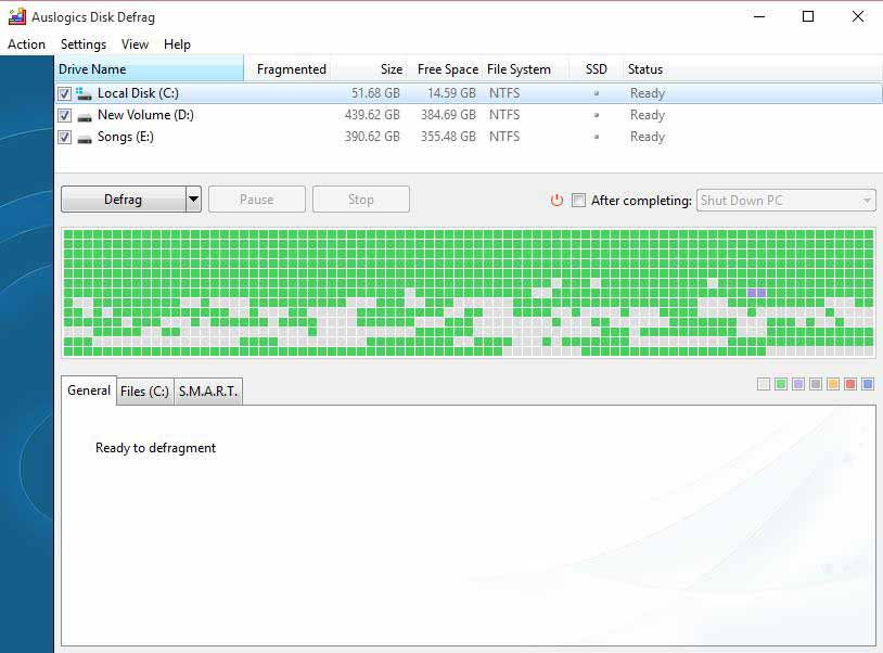Top 12 Best Defragmentation Software for Windows 10 / 8 / 7