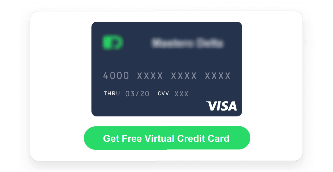 how to get free virtual credit card in 2018. Black Bedroom Furniture Sets. Home Design Ideas