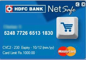 netsafe hdfc bank