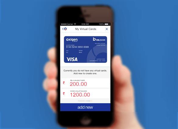 oxigenwallet virtuale prepaid visa cards