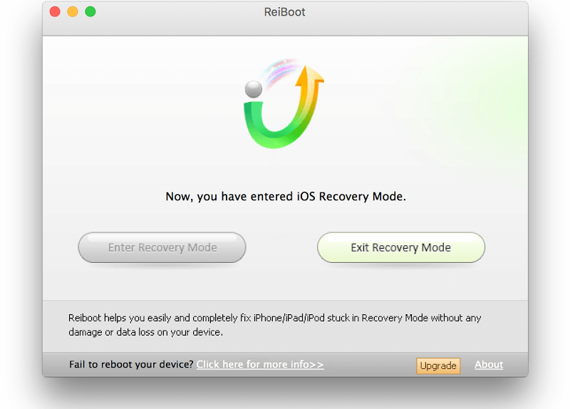 Exit Recovery Mode Iphone S