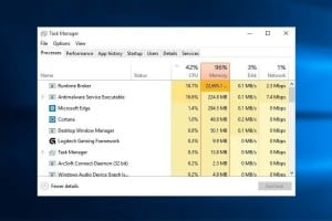 windows 10 runtime broker high cpu usage