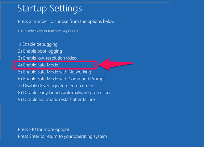 how to start windows 8 in safe mode dell