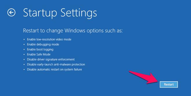 how to restart windows 10 in safe mode