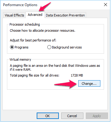 computer low on memory