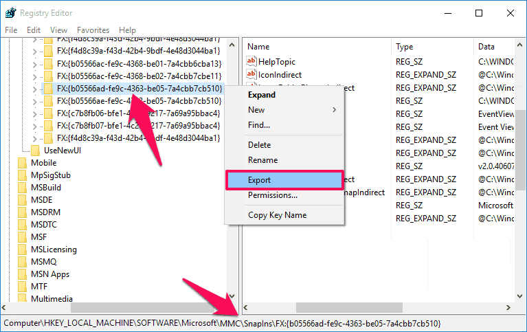 event viewer mmc could not create the snap-in