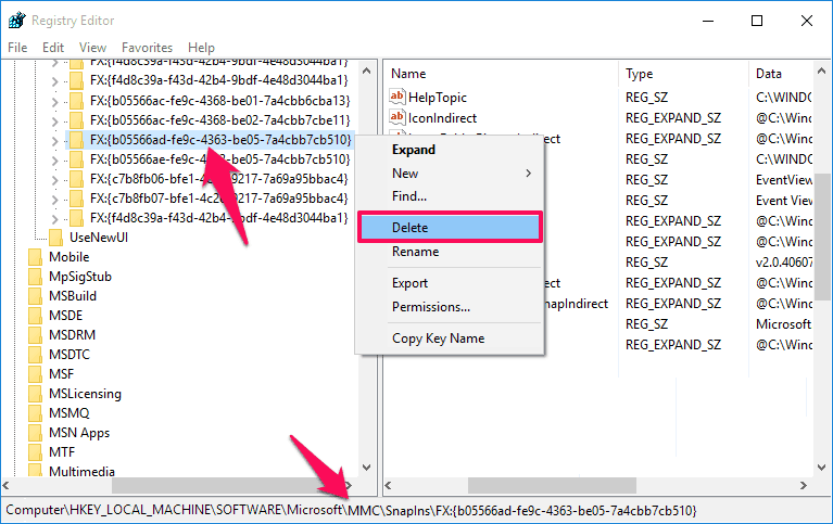 mmc could not create the snap-in event viewer