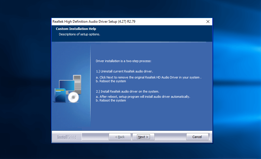 Realtek high definition audio drivers download for windows for Window definition