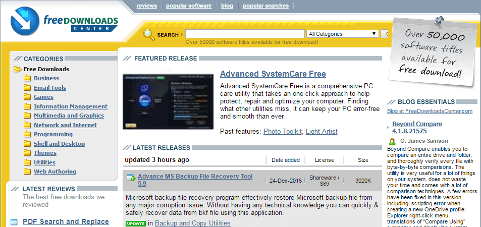 free downloads center