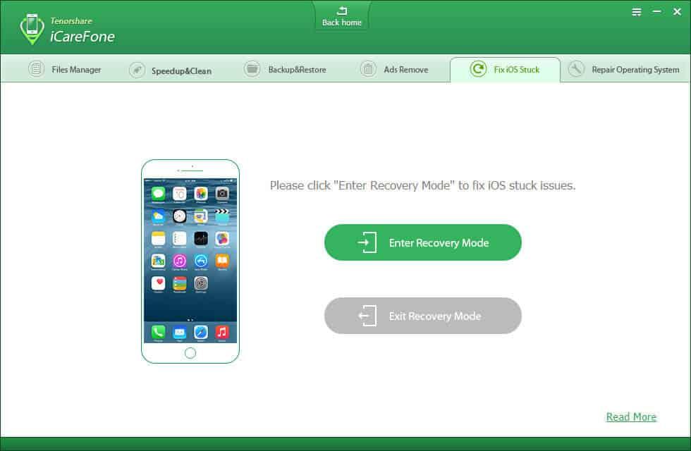 iPhone Care Pro Fix iOS Stuck