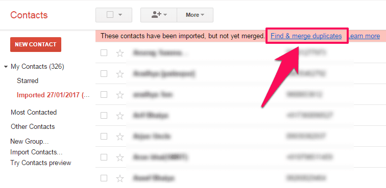 How to Organize Duplicate Contacts in Gmail