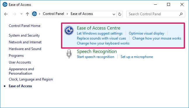 how to change keyboard settings on windows 10
