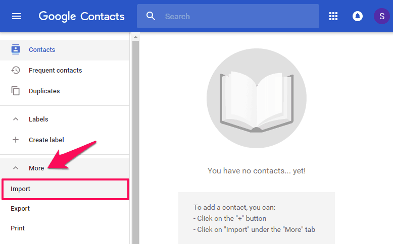 How to Import Outlook Contacts into Gmail Account