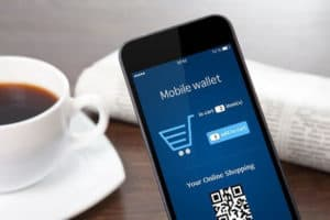 mobile wallets to make online payments