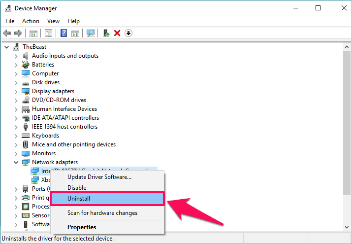 how to fix default gateway not available