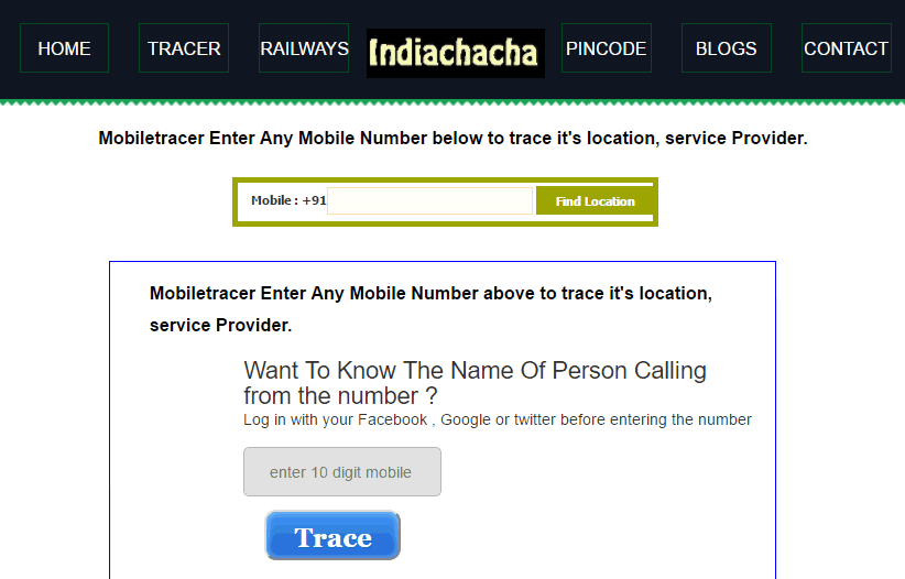 how to trace mobile number details with name address 2018