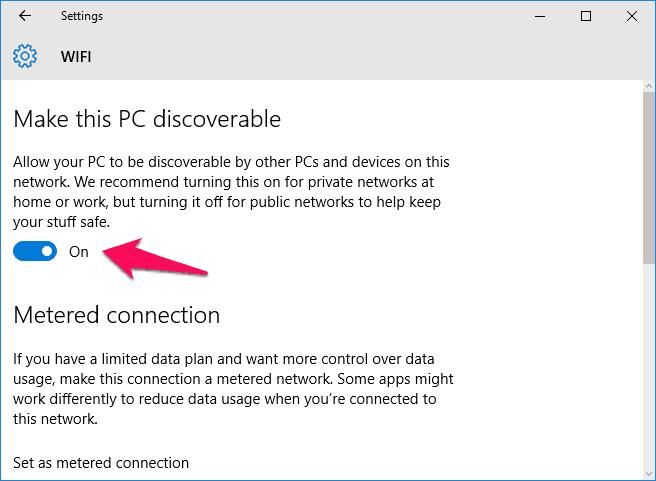 windows 10 change network type