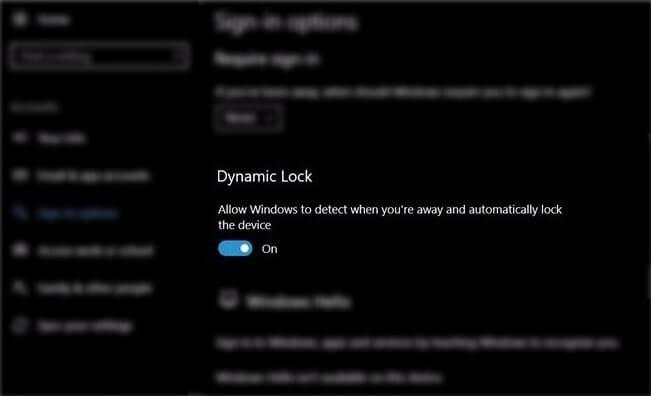 dynamic lock