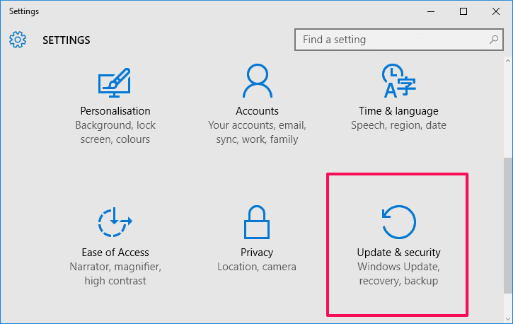how to disable automatic restart in windows 10