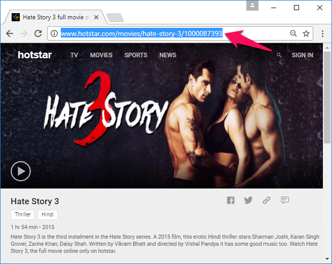 how to download from hotstar