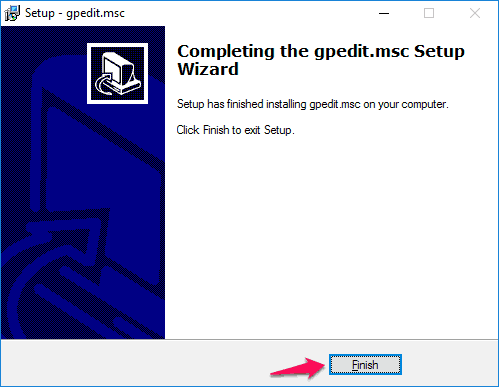 how to enable gpedit.msc in windows 10 home