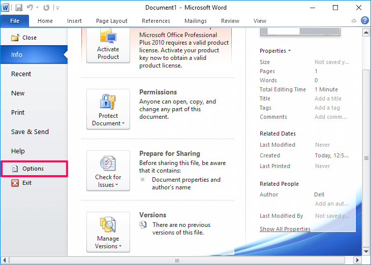 how to remove red underline in word 2013
