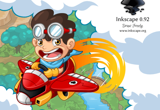 inkspace vector graphics editor