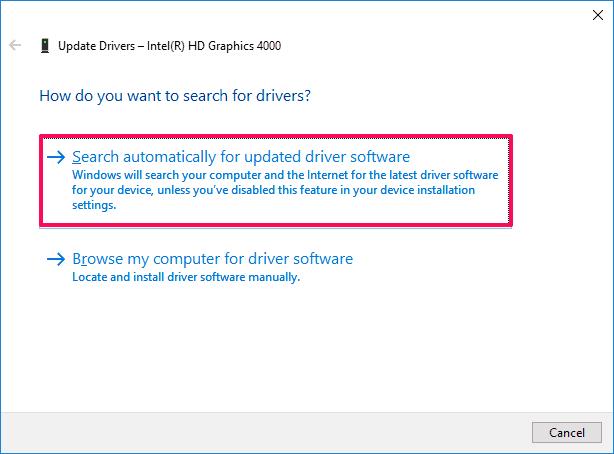 change resolution windows 10