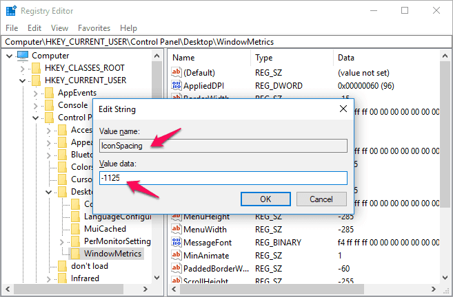 desktop icons windows 10