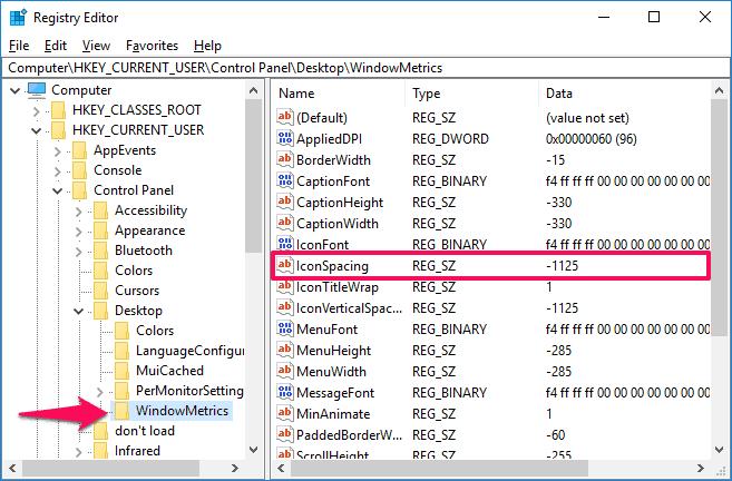 windows 10 desktop icons