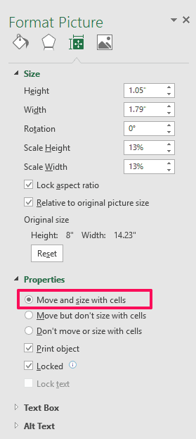 excel insert picture into cell