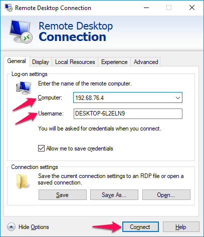 remotely access another computer