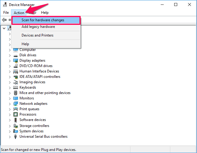 sound driver missing from device manager