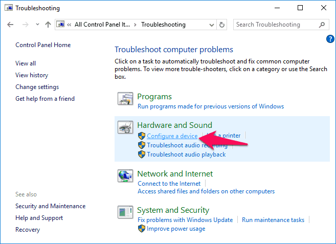 sound video and game controllers missing from device manager