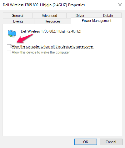 windows 10 the default gateway is not available