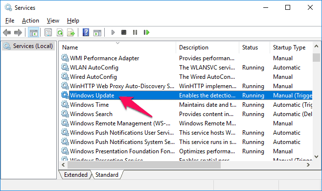 how to clear windows update cache