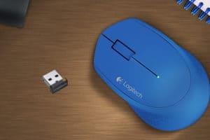 logitech wireless mouse not working windows 10