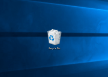 remove recycle bin from desktop