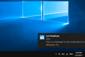 enable balloon windows 10
