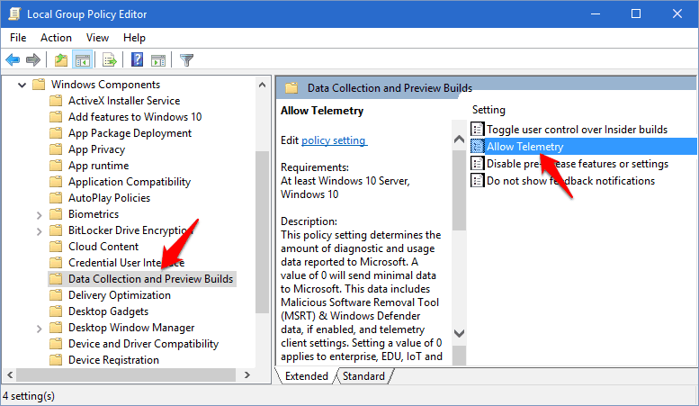 some settings are hidden or managed by your organization