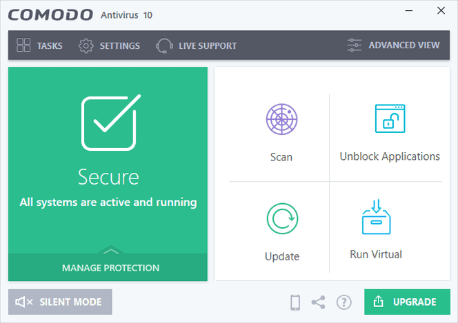 comodo free antivirus for windows 10