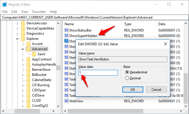 how to display hidden files and folders