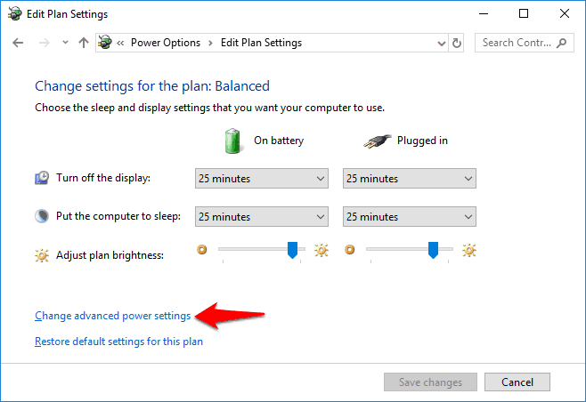 how to change lock screen display off timeout period in windows 10