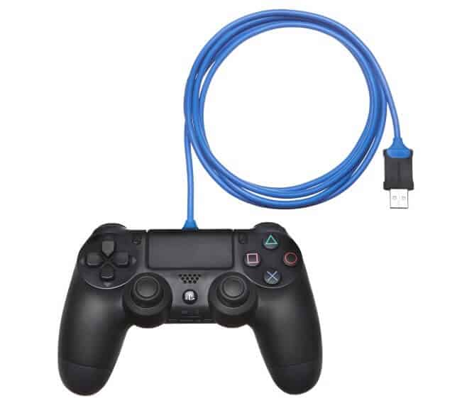 ps4 controller charging cable