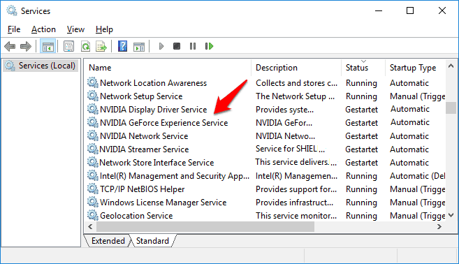 geforce experience not opening windows 10