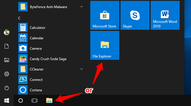 get help with file explorer
