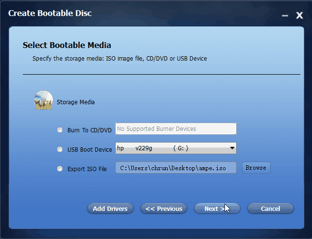 create bootable usb drive for windows 7