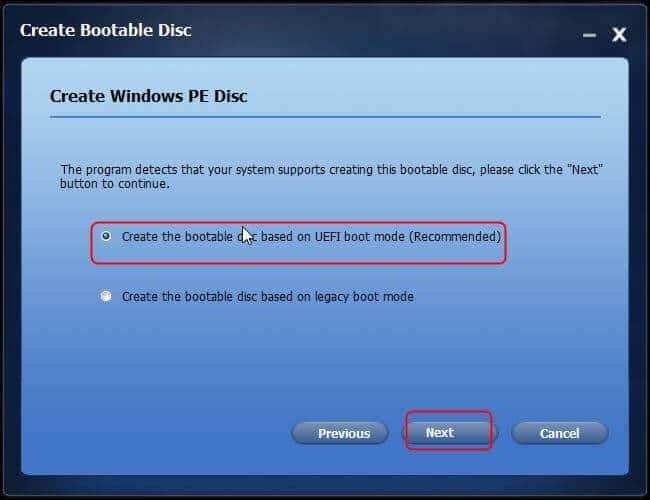 create bootable usb drive