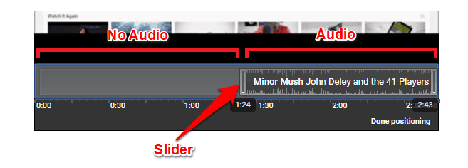 remove audio track from video